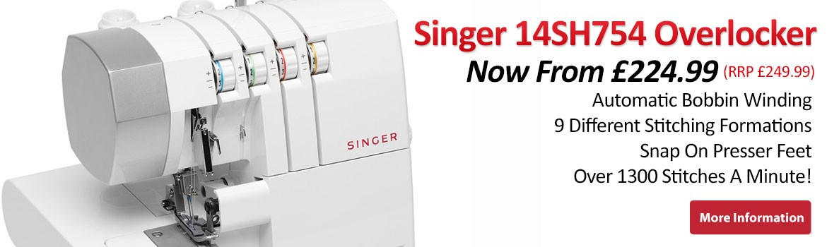 Singer-14SH754 Overlocker Machine