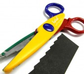 Colourful Pinking Shears